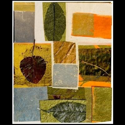 Mixed media collage by Valerie Doran Bashaw